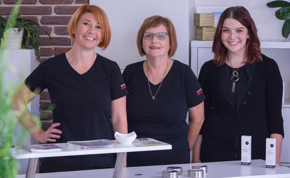 Team des Haar- und Kosmetikstudio Schieber